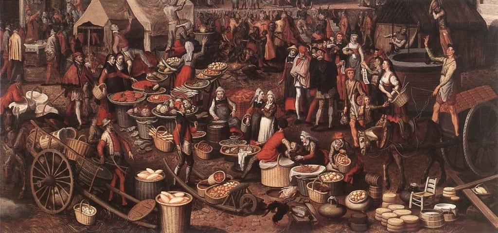 medieval shakespeare scene