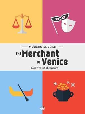 The Merchant of Venice ebook cover