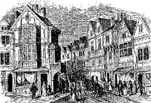 Elizabethan Southwark High Street
