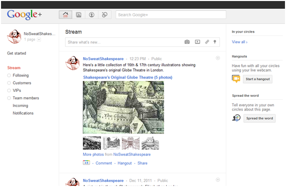 NSS Google+