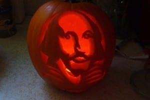 The Shakespeare pumpkin