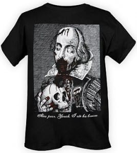 Zombie Shakespeare t-shirt