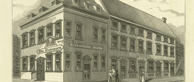 Shakespeare Tavern NYC