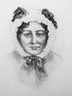 Mary Lamb, a portrait