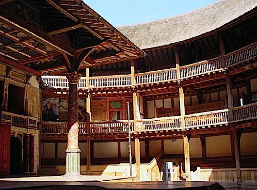 Home of Elizabethan drama