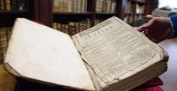 St Omer First Folio