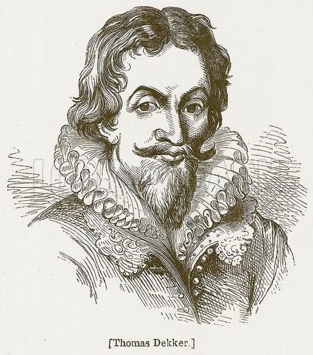 Thomas Dekker portrait