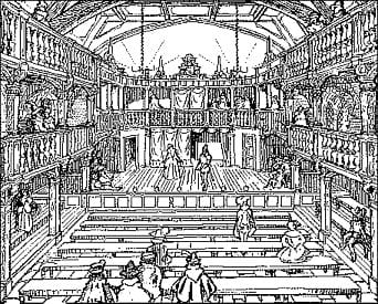 the characteristics of the london public theaters in the time of queen elizabeth i Main characteristics of elizabethan theatre - the influence of the theatre on the texts most public theatres were built outside the city walls of london were practically unprotected from rain or sunshine the most famous london theatres were the rose, the theatre.
