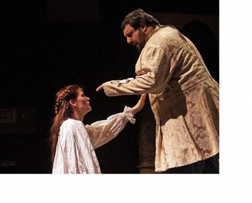 Father & daughter - Capulet and Juliet