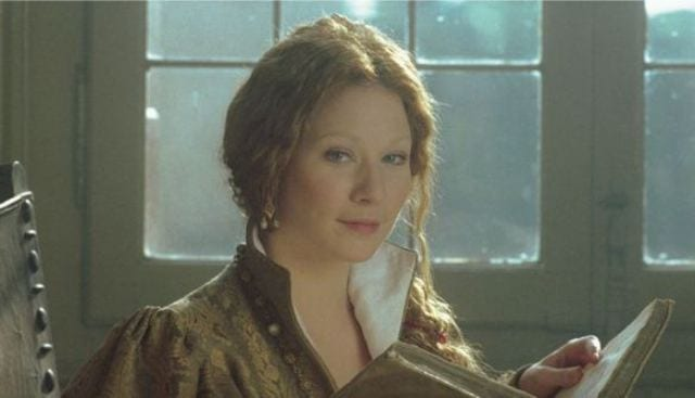 Lynn Collins plays Portia inThe Merchant of Venice