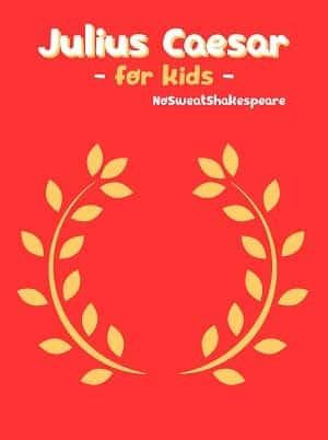 Julius Caesar for Kids ebook cover