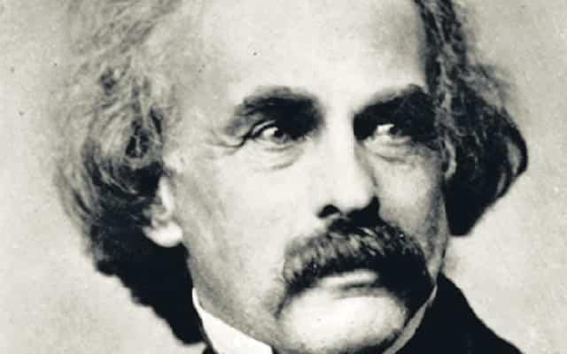 Photograph of Nathaniel Hawthorne