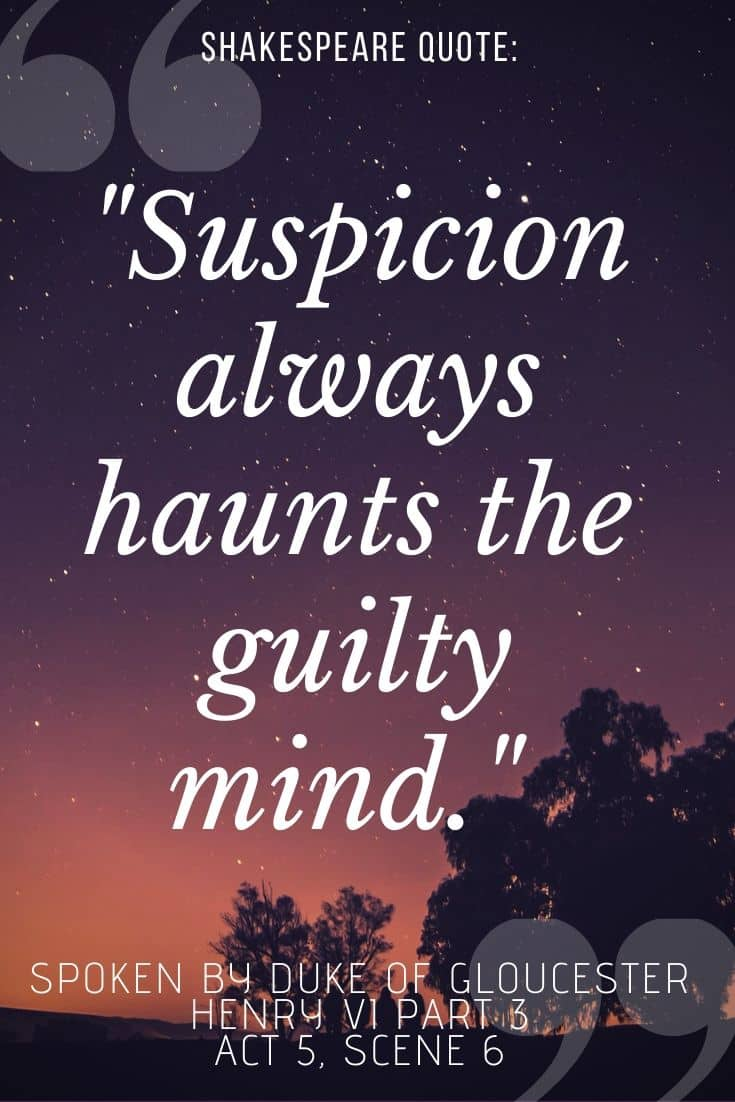 Henry VI Part 3 quote on sunset background -