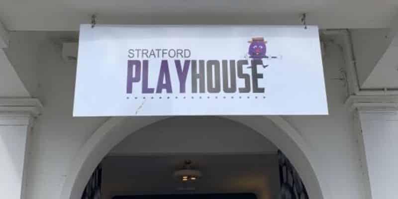 Stratford Playhouse entrance, Stratford Upon Avon