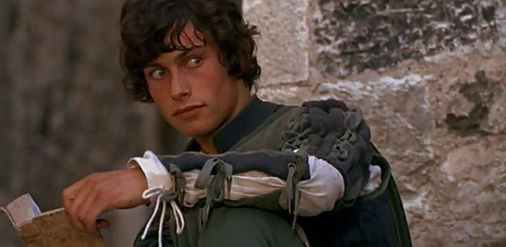 Benvolio played by Bruce Robinson