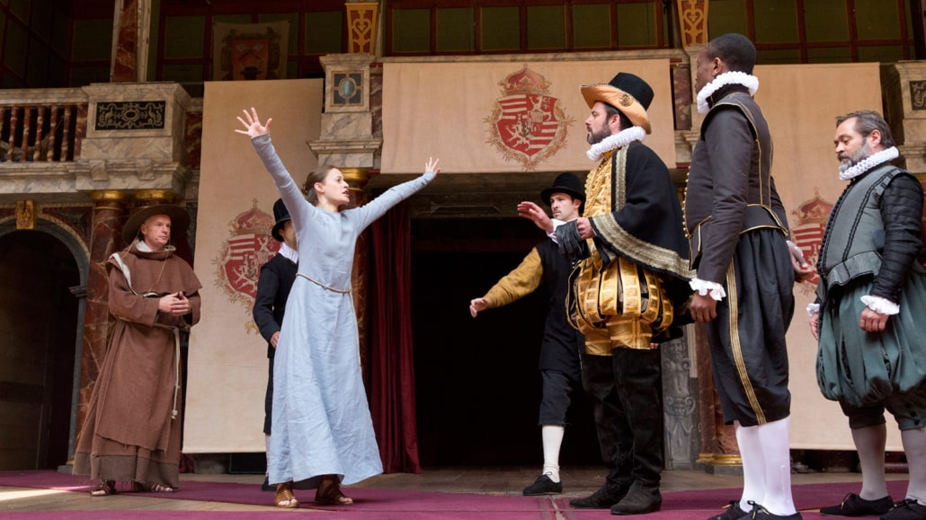Measure for Measure characters on stage