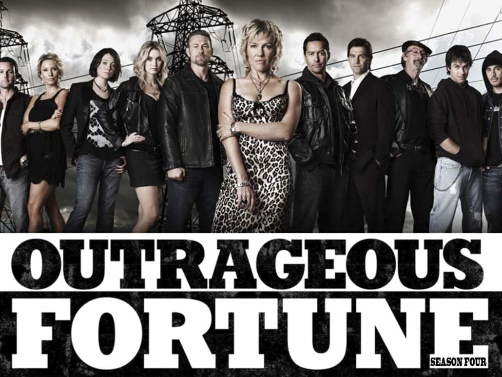 outrageous fortune tv show advert