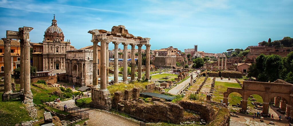Ancient Rome - Coriolanus setting