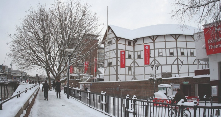 Building The Old Globe Theater: The Full, Strange Story! 1