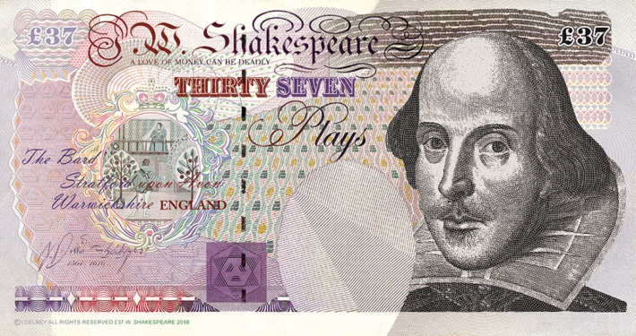 was shakespeare rich